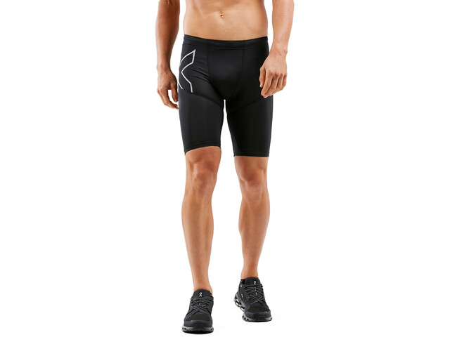 2XU Run Dash Compression Pantaloncini Uomo, nero